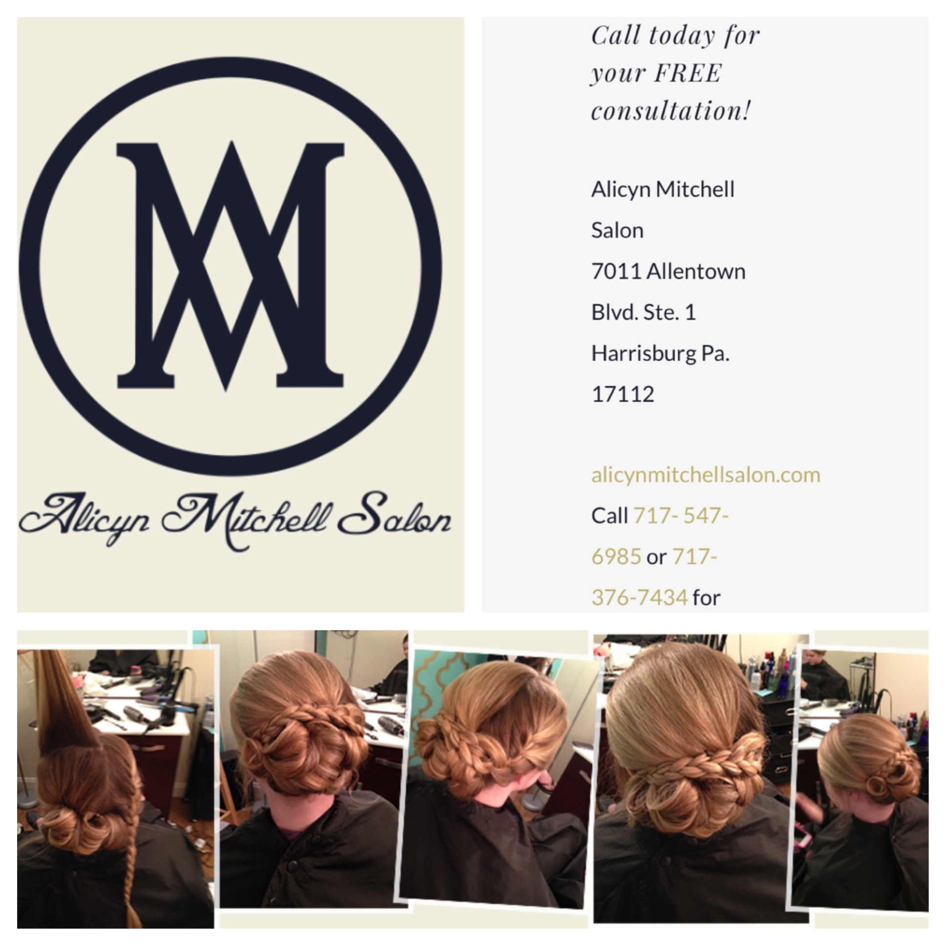 Alicyn mitchell salon harrisburg pa business directory for Abaca salon harrisburg pa