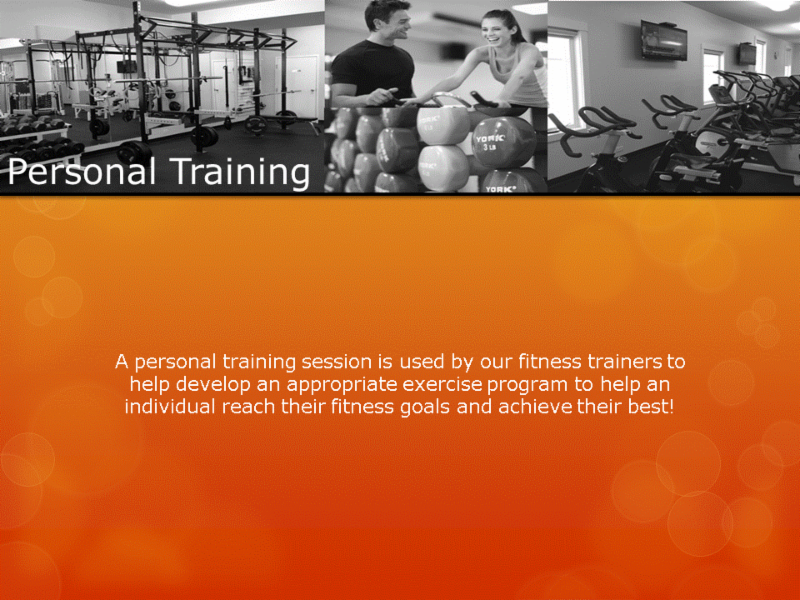 Human Performance Centre in Saint John: A personal training session is used by our fitness trainers to help develop an appropriate exercise program to help an individual reach their fitness goals and achieve their best!