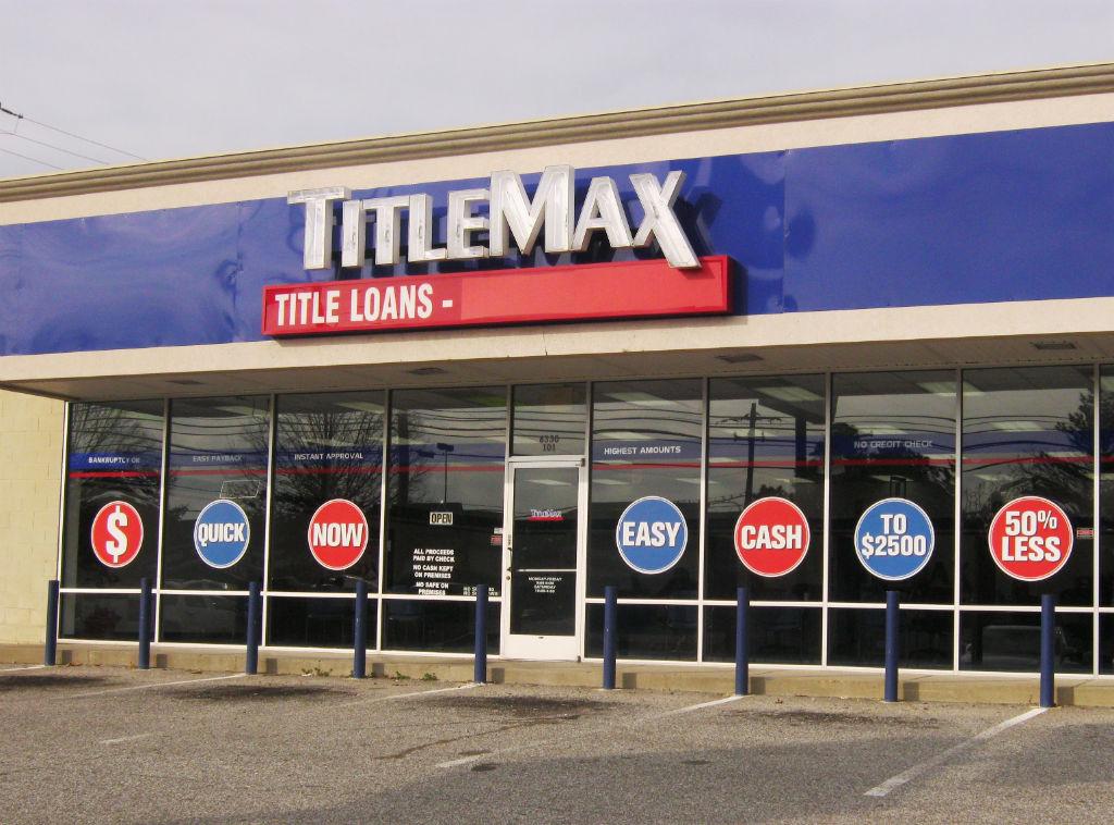TitleMax Title Loans in Memphis TN