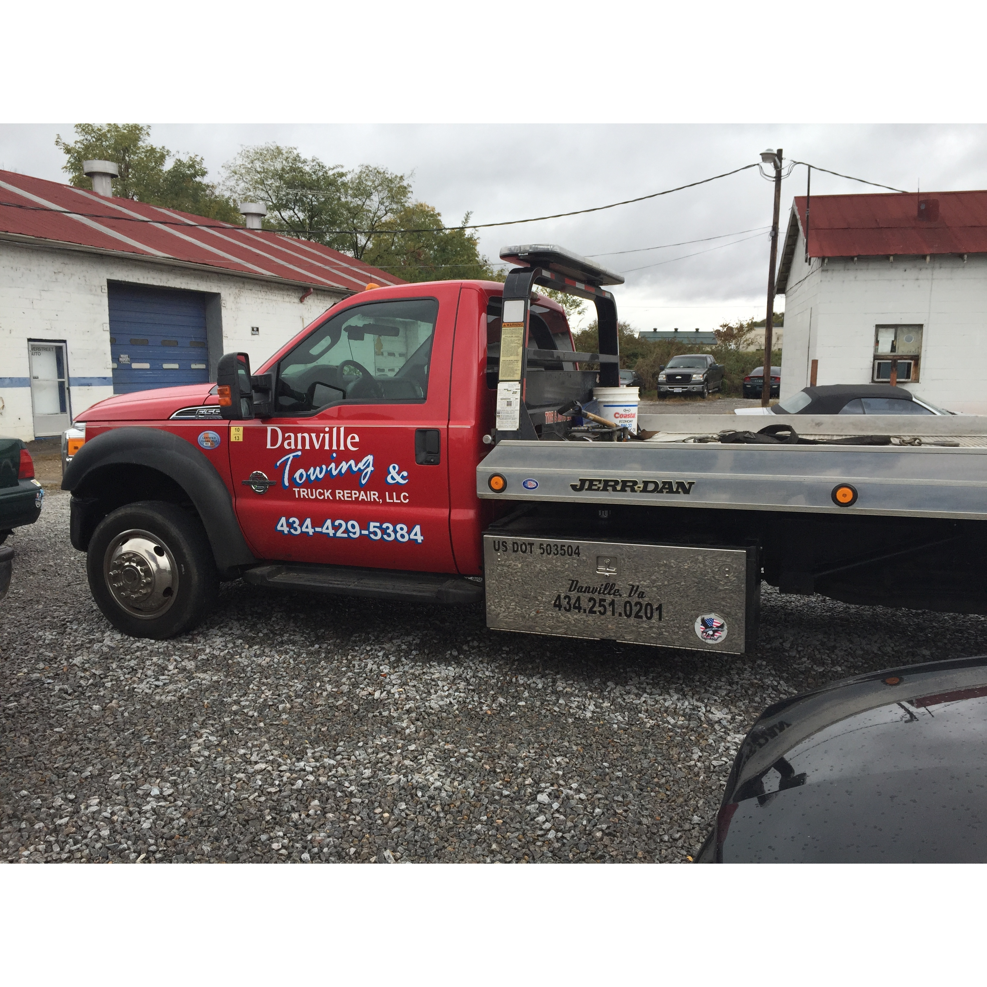 Danville Towing Truck Repair