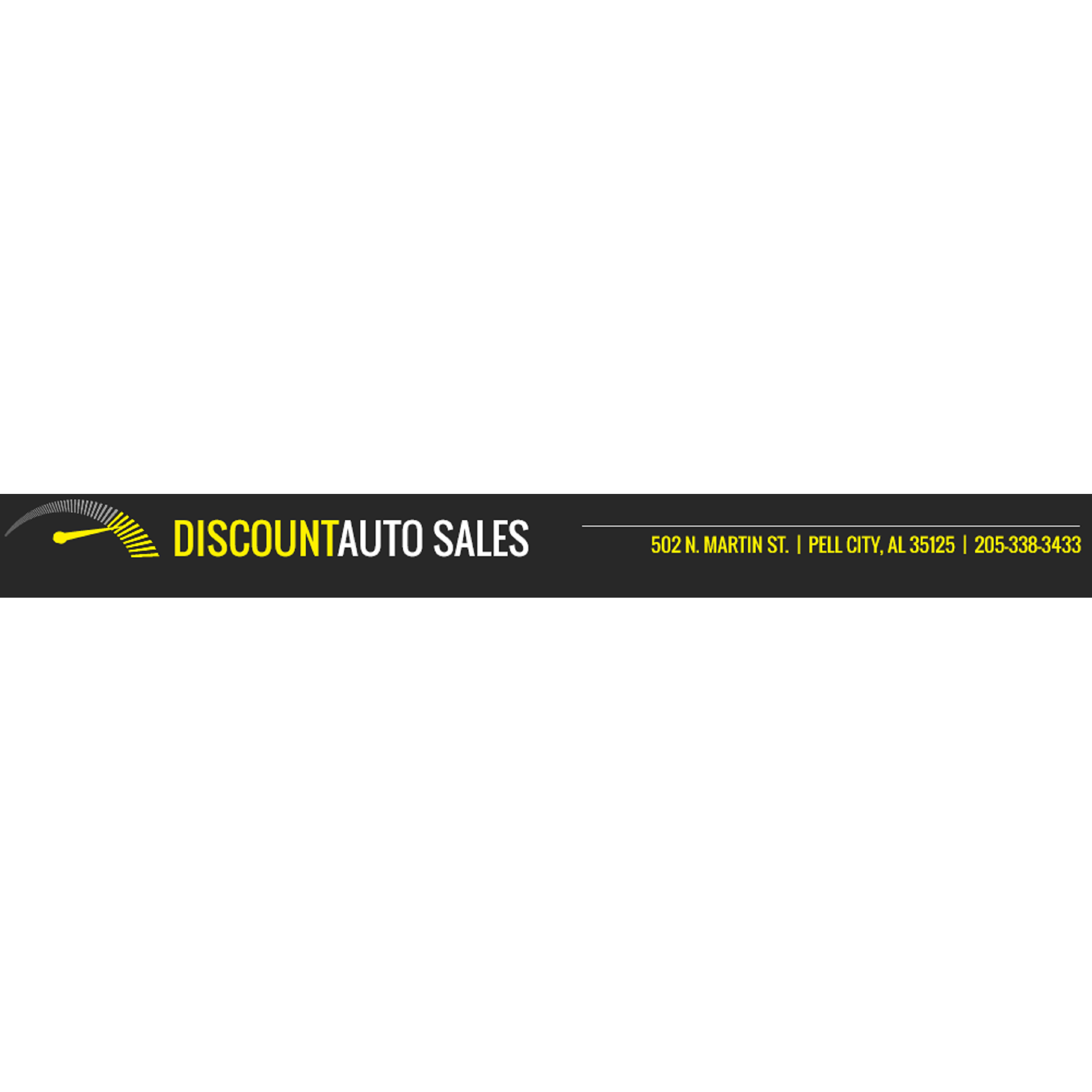 Discount Auto Sales 502 North Martin Street Pell City, AL ...