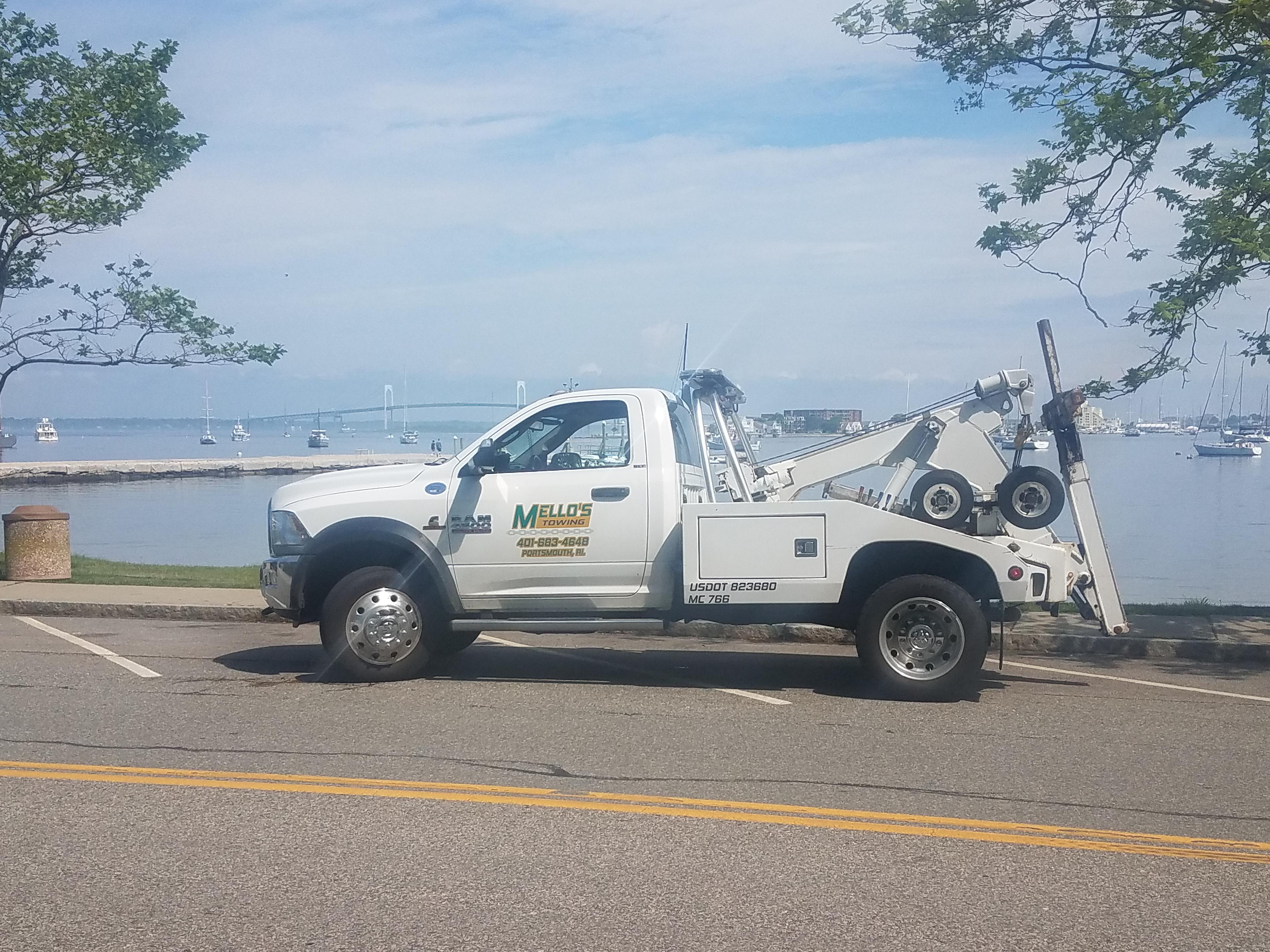 Mello's Towing LLC 1650 W Main Rd Portsmouth, RI Auto Repair - MapQuest