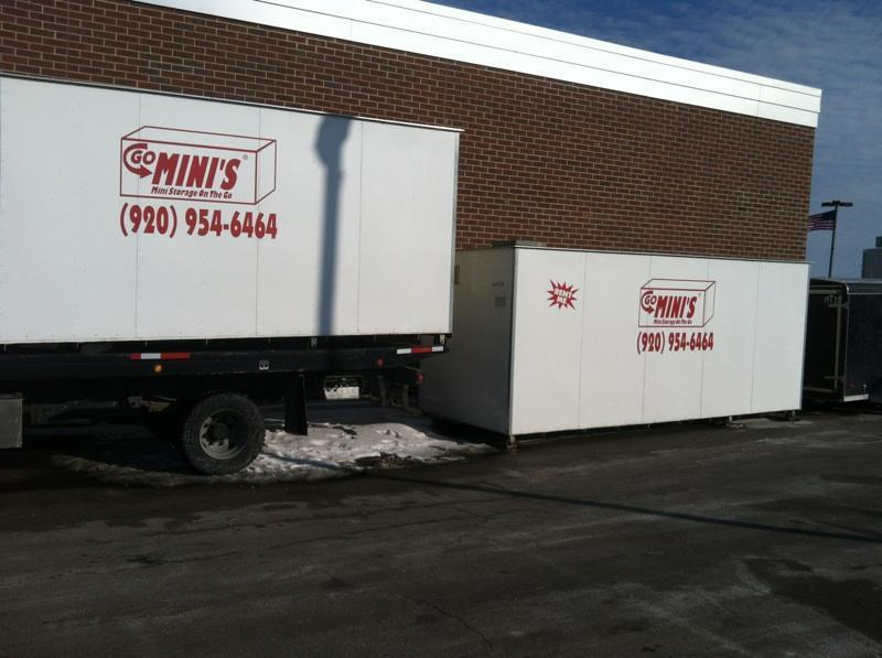 We are picking up our empty Go Mini's from the new World of Beer. They will be open for business soon.