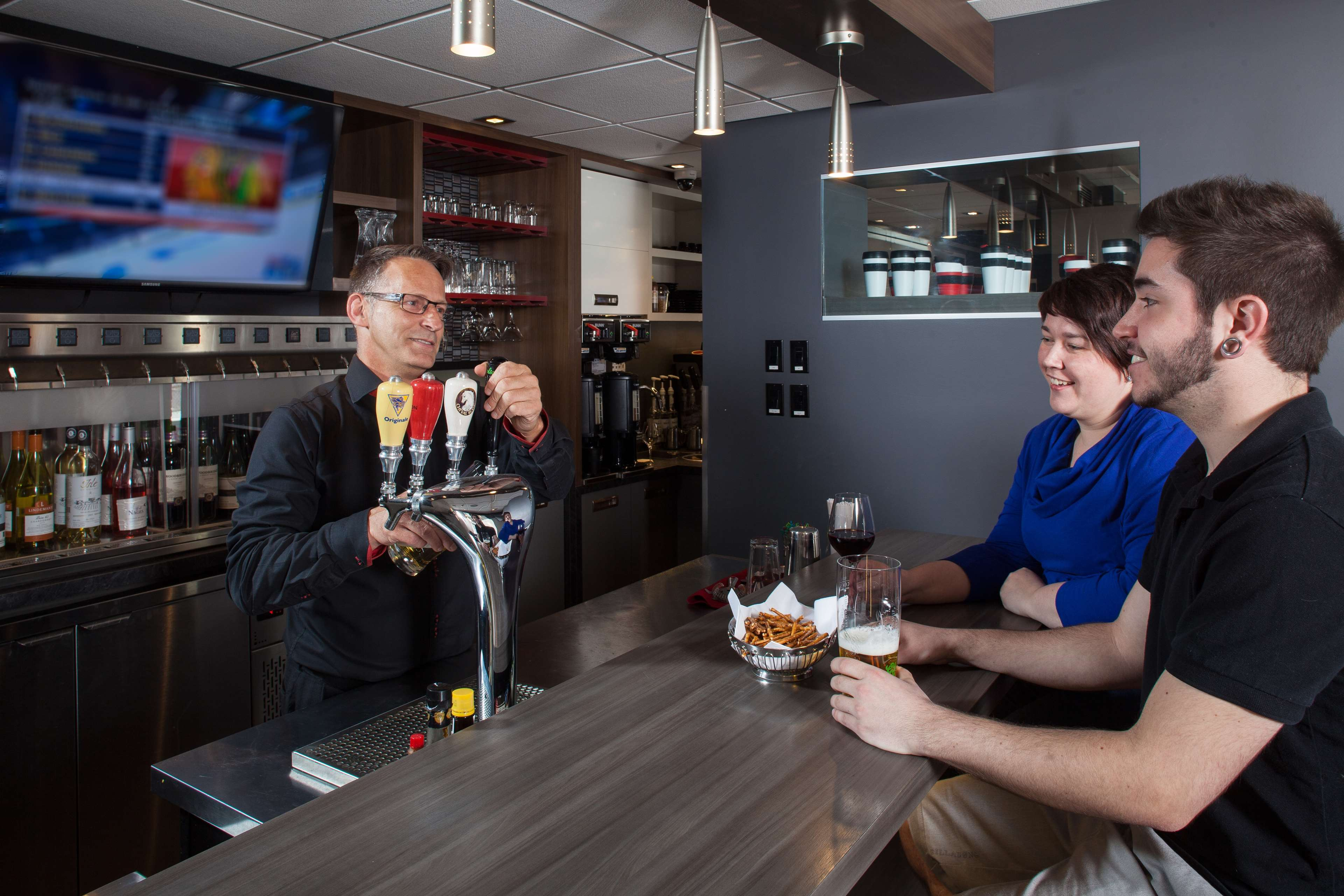 Best Western Plus City Centre/Centre-Ville à Quebec: Café In's Wine Bar