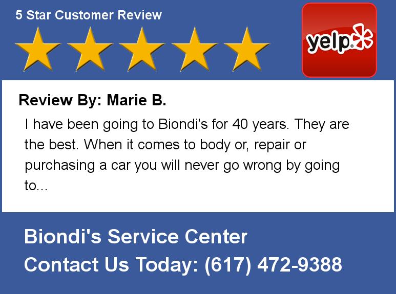 Biondi's Service Center in Quincy, MA, photo #4
