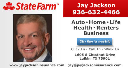 Jay Jackson State Farm Insurance Agent 1605 S Chestnut Drive Lufkin Tx Financial Advisory Services Mapquest