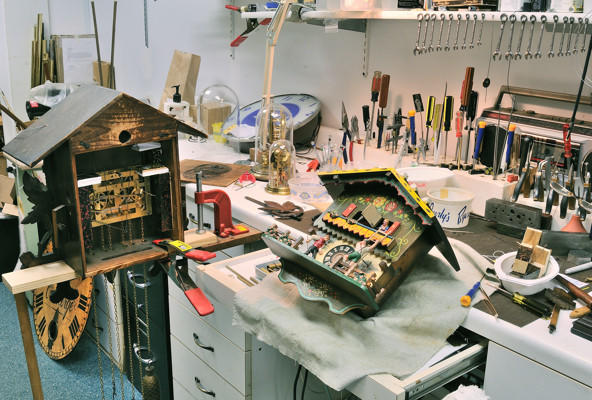 Blackstone Manor Clock Repair image 1