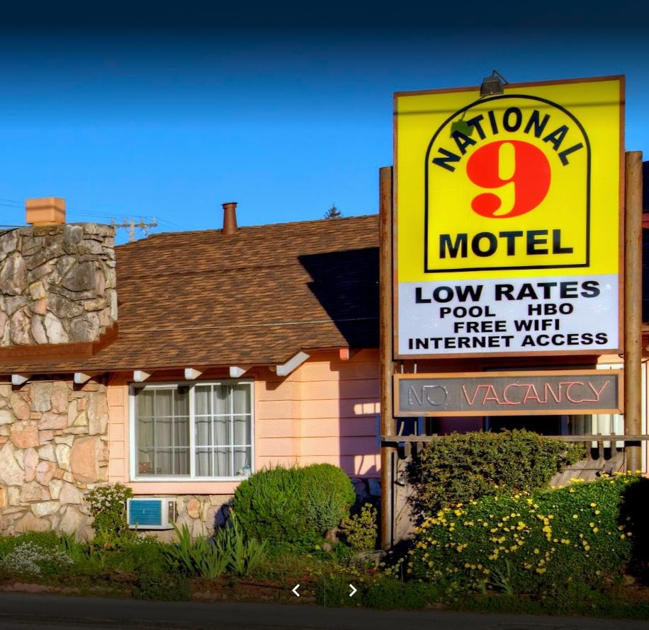 National 9 Motel Santa Cruz image 0