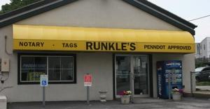 Runkle's Notary • Tag • Title image 1