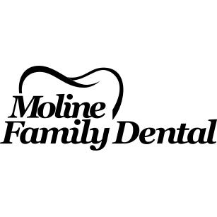 Moline Family Dental Logo, , Dentist