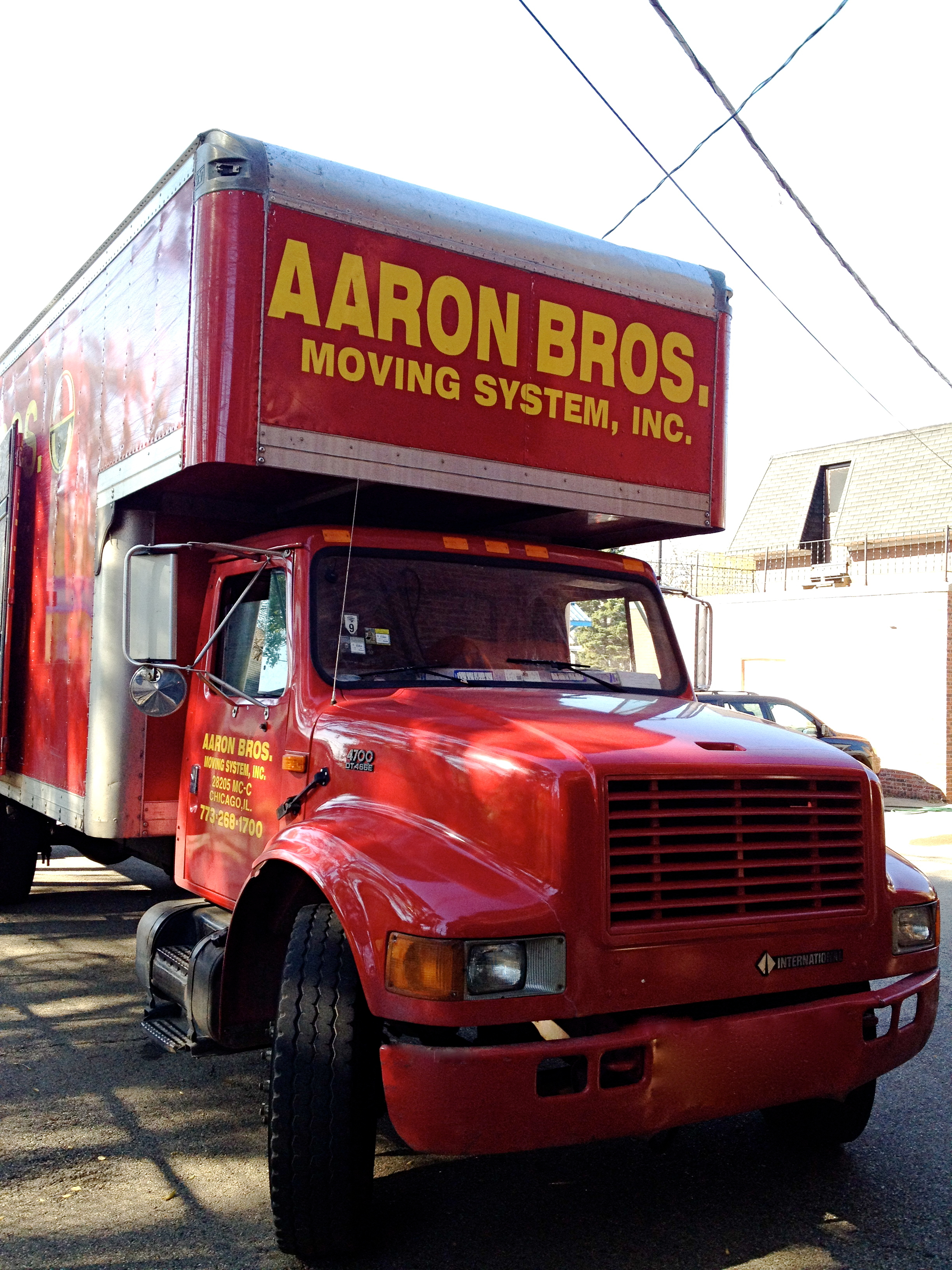 Aaron Bros Moving System Inc in Chicago IL 773 268 1