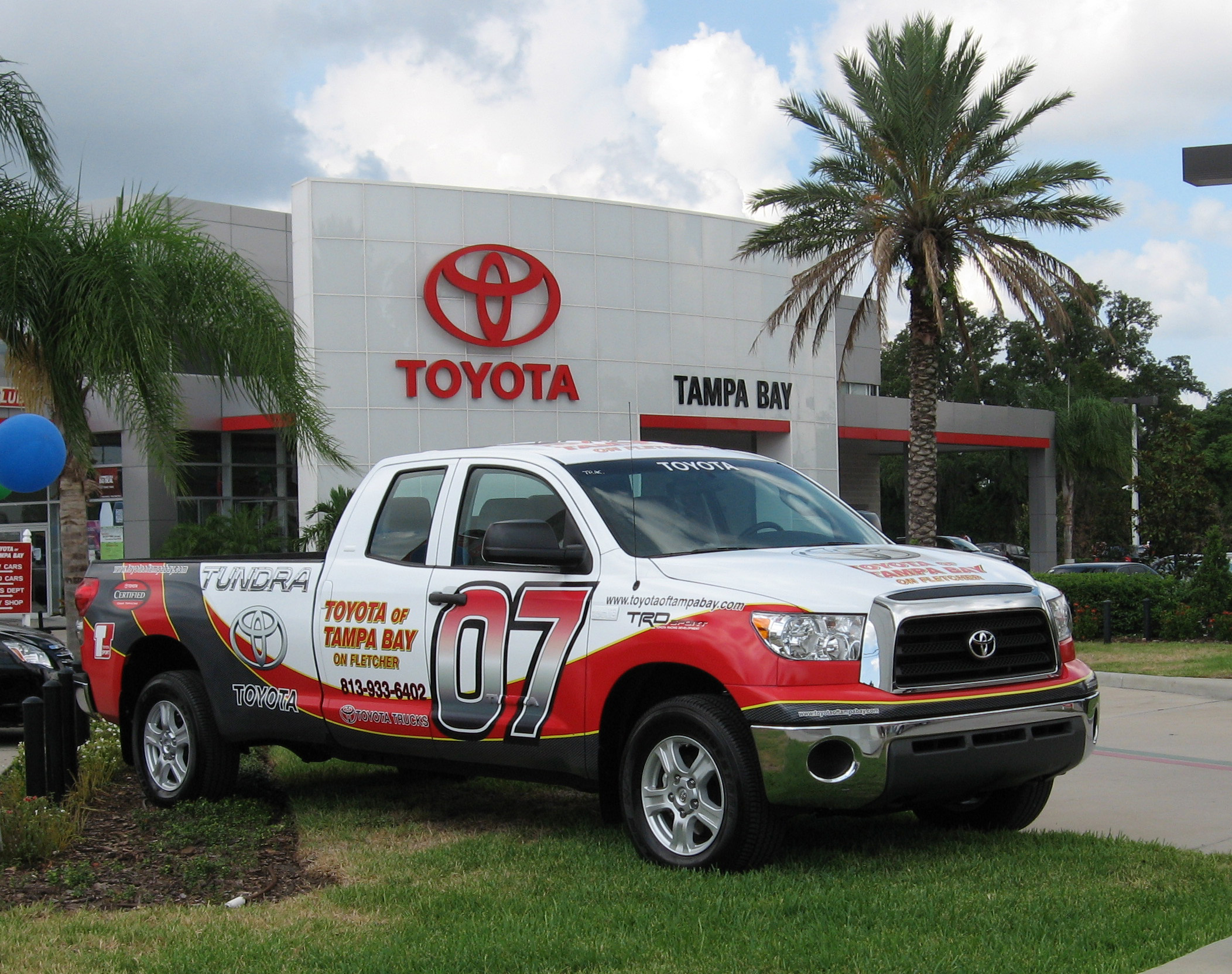 Toyota Of Tampa Bay At 1101 E Fletcher Ave Tampa Fl On Fave