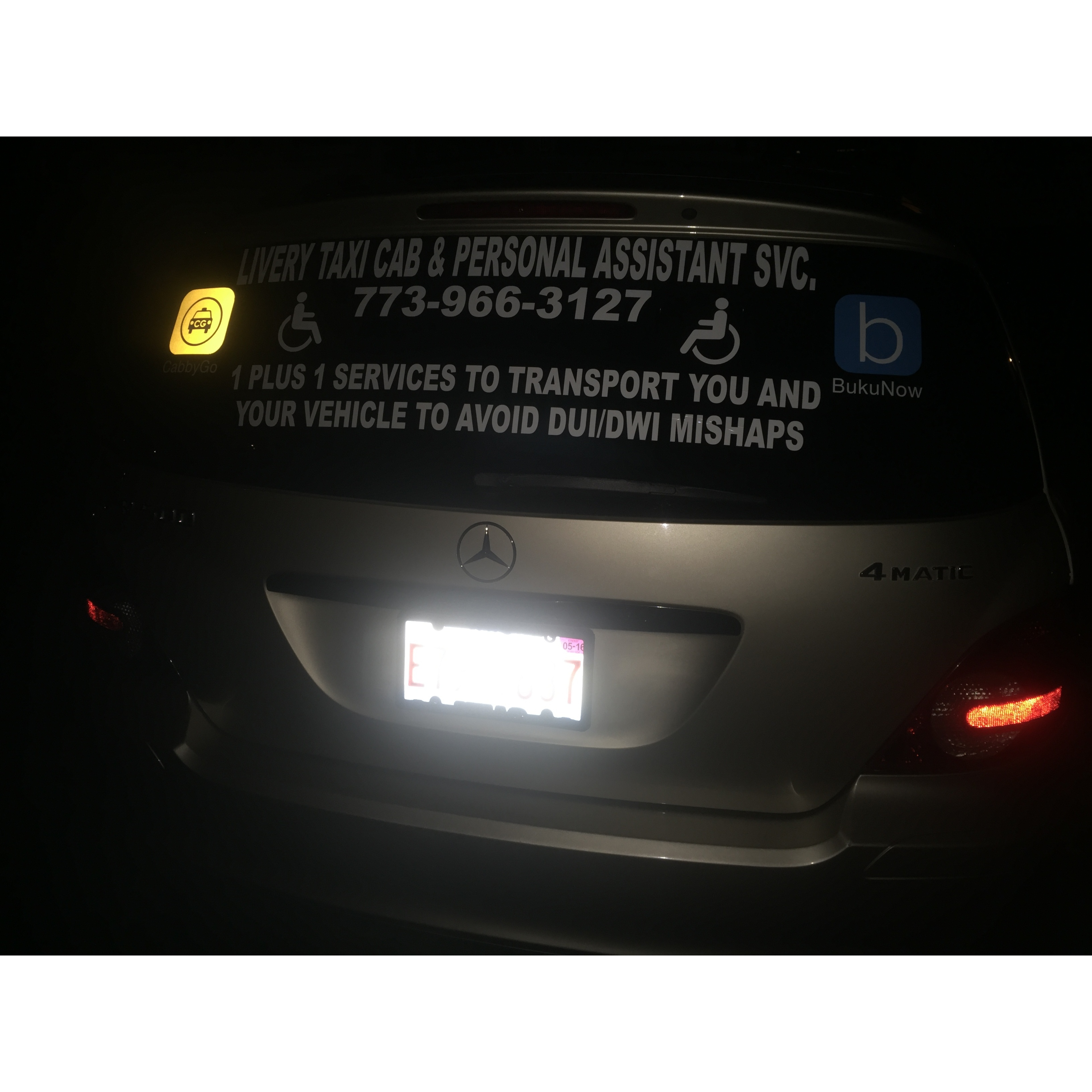 Livery Taxi Cab & Personal Assistant Svc.