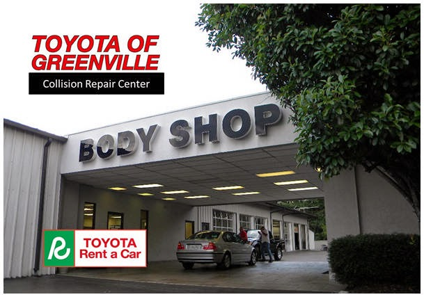 Greenville toyota collision center at 2600 laurens road for Motor mile greenville sc