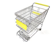 Yellow Dreamkeeper Shopping Cart