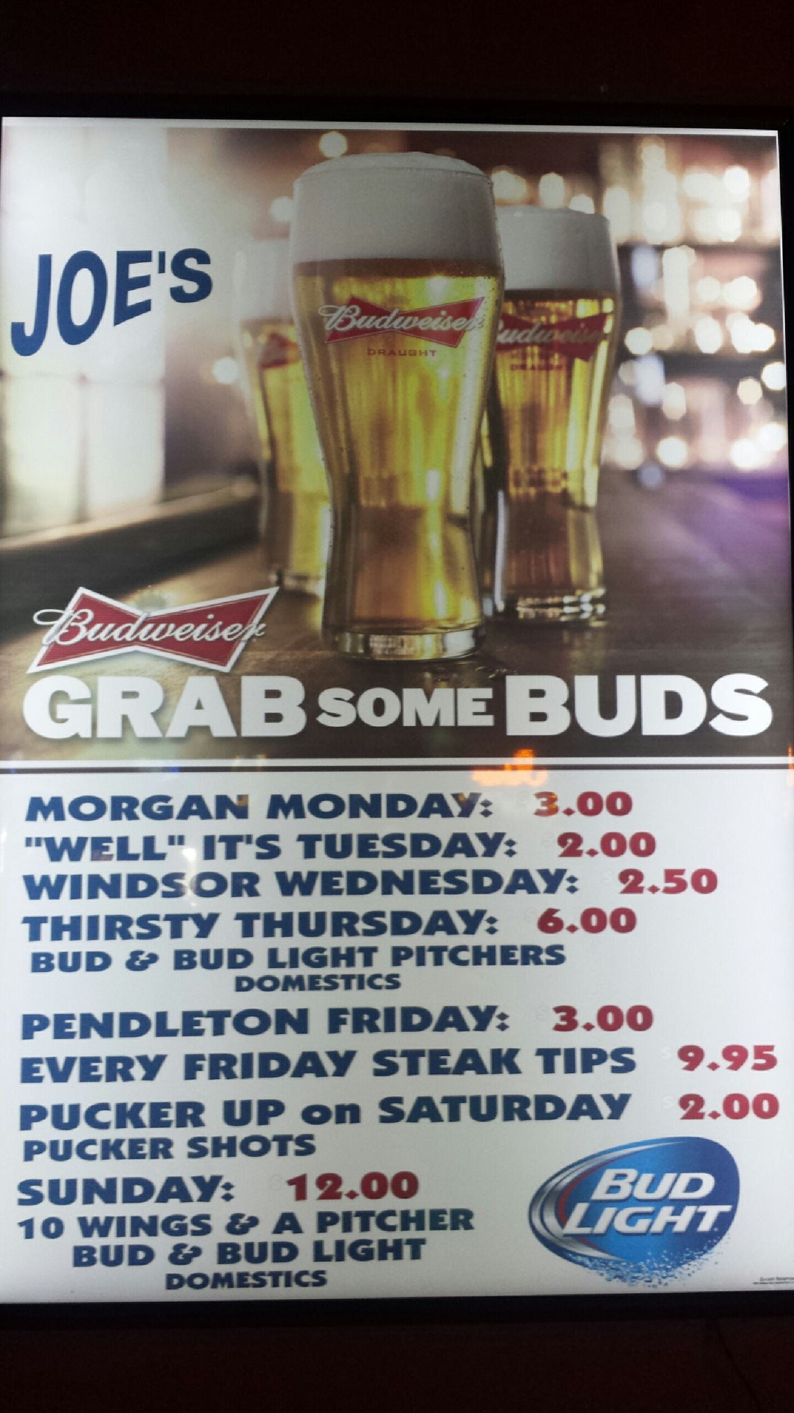 Joe 39 S Place Bar Grill In Rapid City Sd Whitepages
