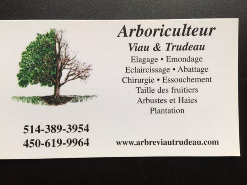 Arboriculteur Viau & Trudeau à La Prairie
