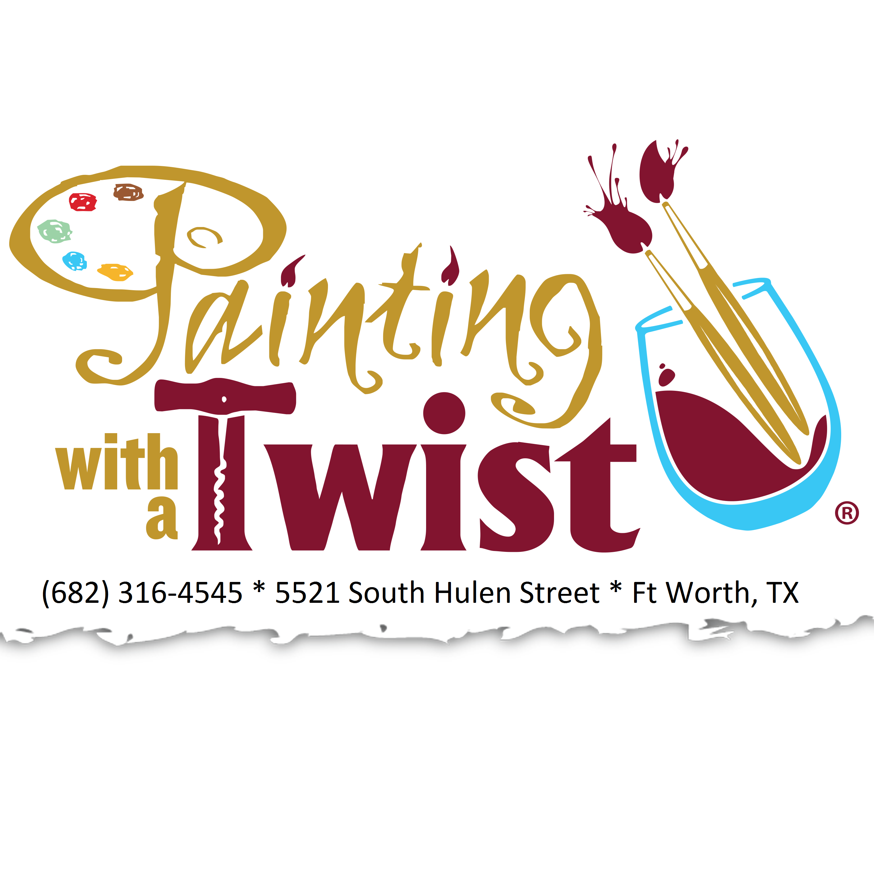 Painting With A Twist - Ft Worth South Hul