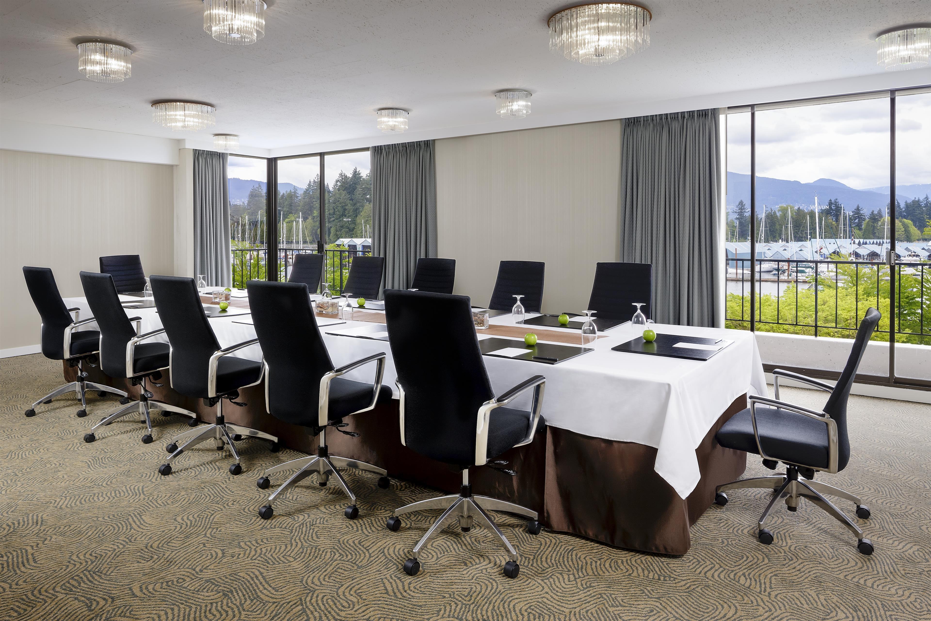 The Westin Bayshore, Vancouver in Vancouver: President Boardroom
