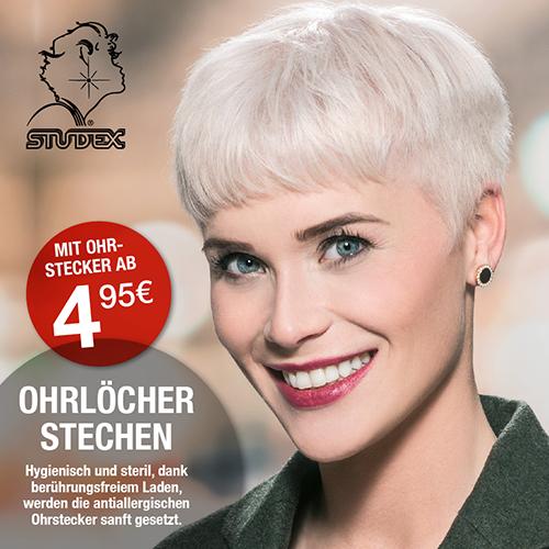 HairExpress Studex Ohrlochstechen mit Ohrstecker ab 4,95 €