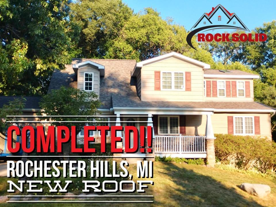 Rock Solid Exteriors - Roofers and Siding Contractors image 53