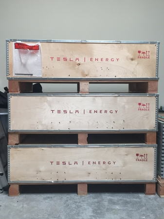 Tesla Powerwall - Power your home on stored energy from Solar Panels.