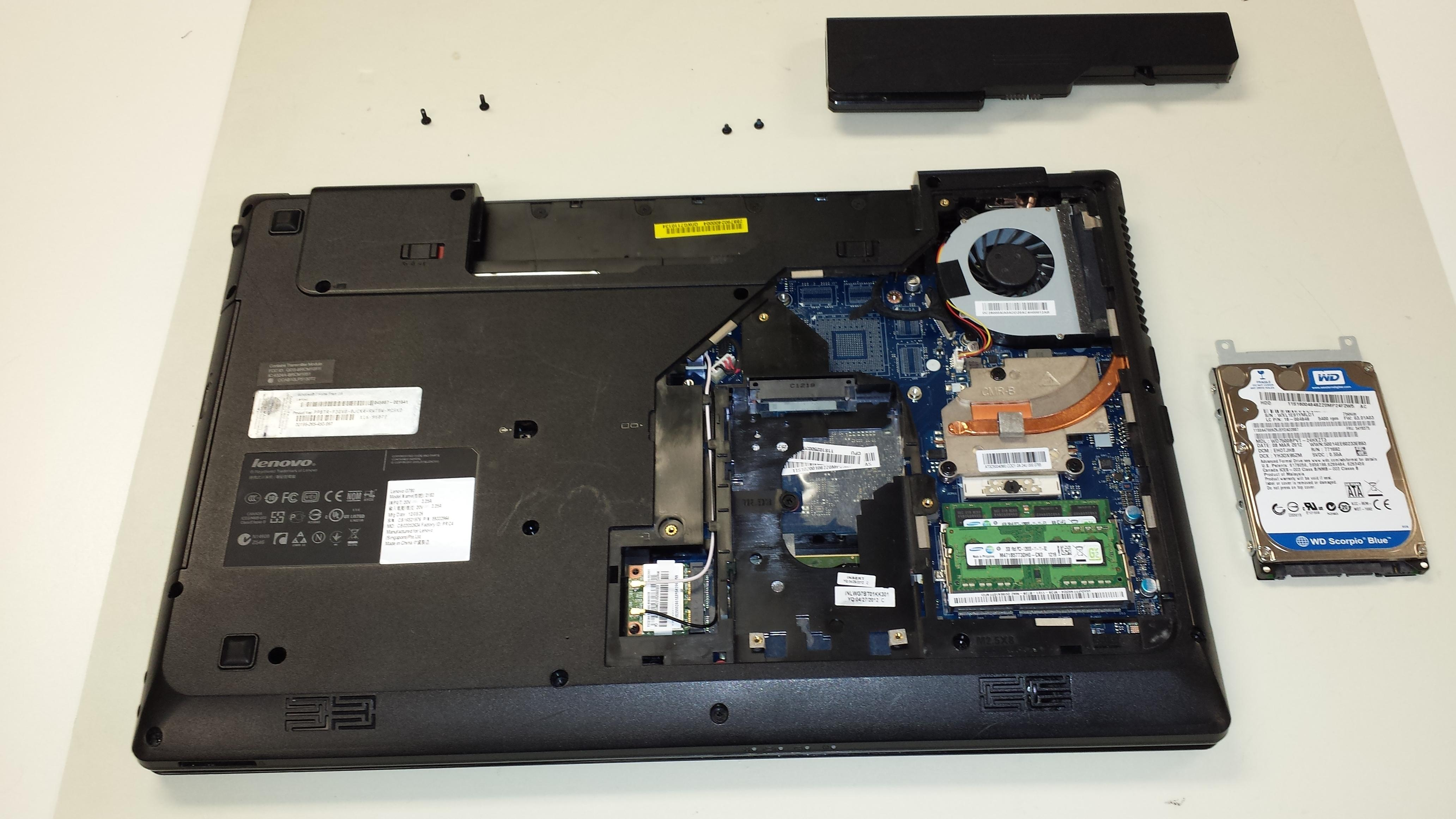 We perform a variety of laptop repairs.