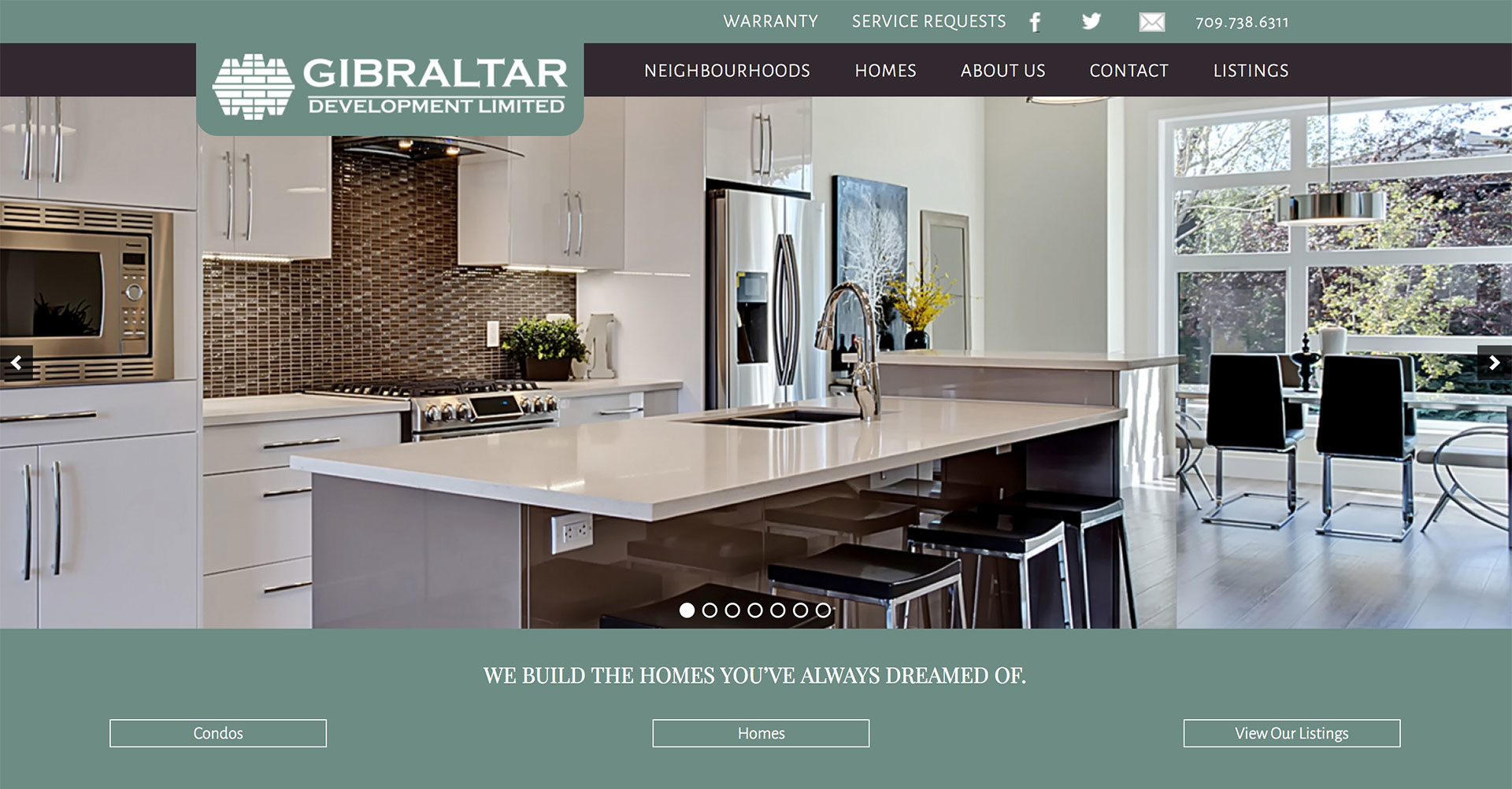 Lorne Pike & Associates in St. John's: A website design for Newfoundland and Labrador's leading condominium developer and builder of fine homes. The site highlights their quality and attention to detail.