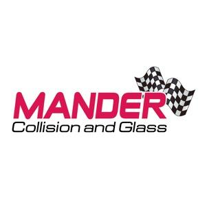 Mander Collision and Glass