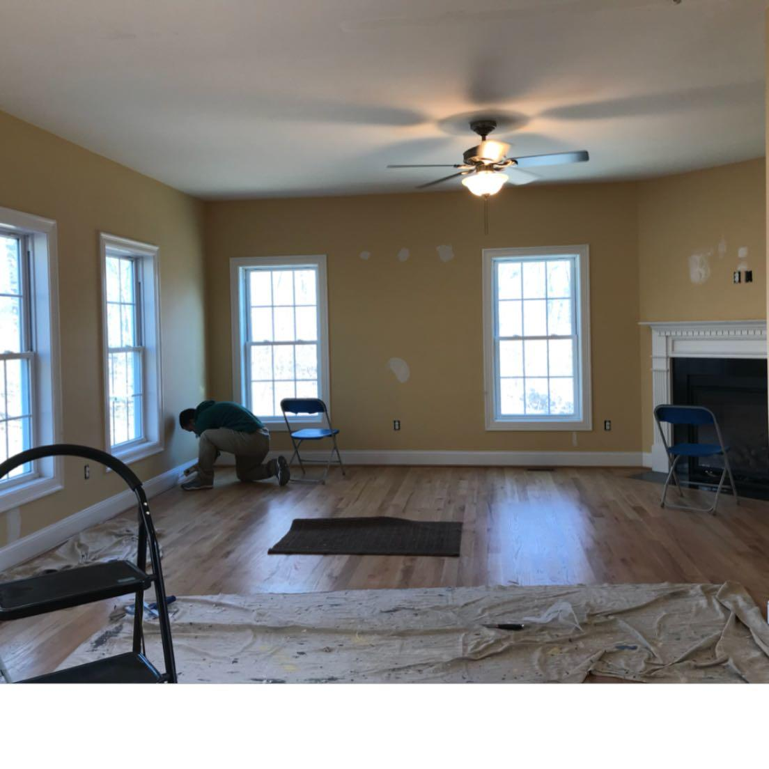 Interior Exterior House Painters: Painting Kitchen Cabinets, Mystic, CT