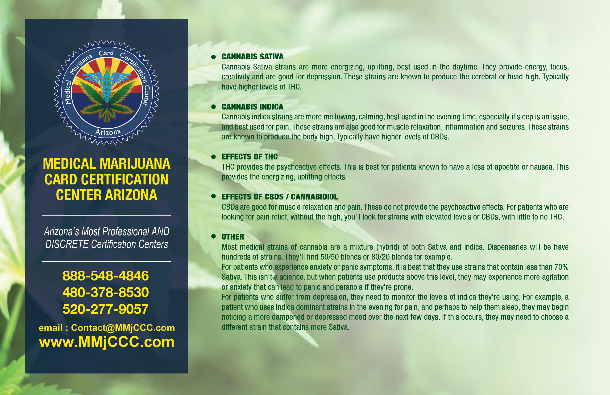 Medical Marijuana Card North Scottsdale