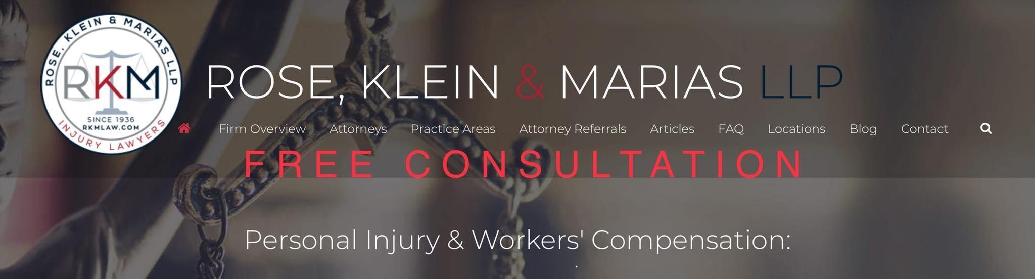 Rose, Klein & Marias LLP - Injury Lawyers image 6