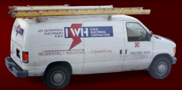 Les Entreprises Electriques KWH à Brossard