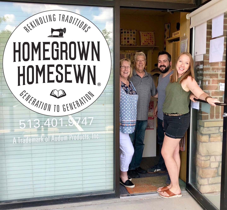 HomeGrown HomeSewn