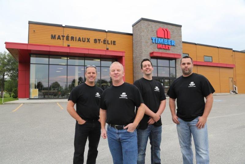 Matériaux Saint-Elie à Sherbrooke