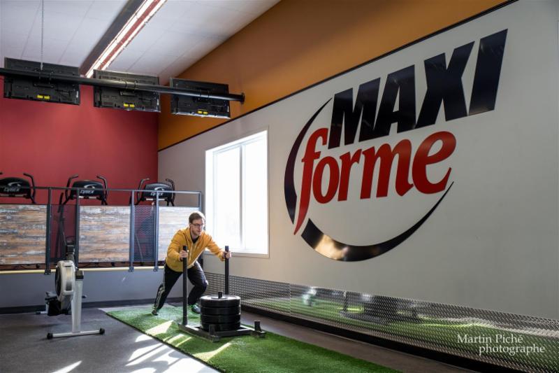 Gymnase Maxi-Forme Inc à Victoriaville