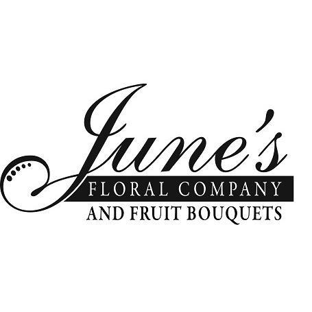 June's Floral Company & Fruit Bouquets Logo