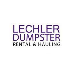 Lechler Dumpster Rental & Hauling