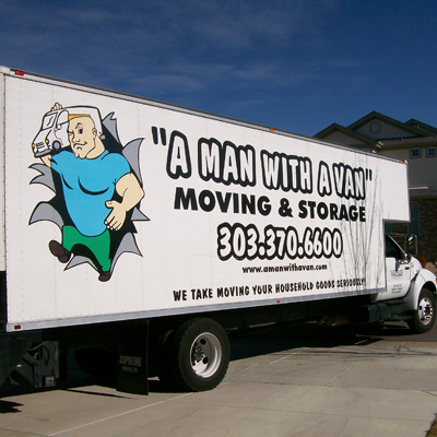 A Man With A Van - Moving and Storage