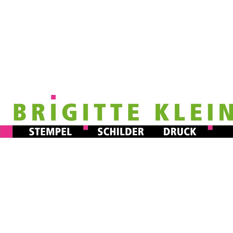 BRIGITTE KLEIN Stempel-Schilder-Druck