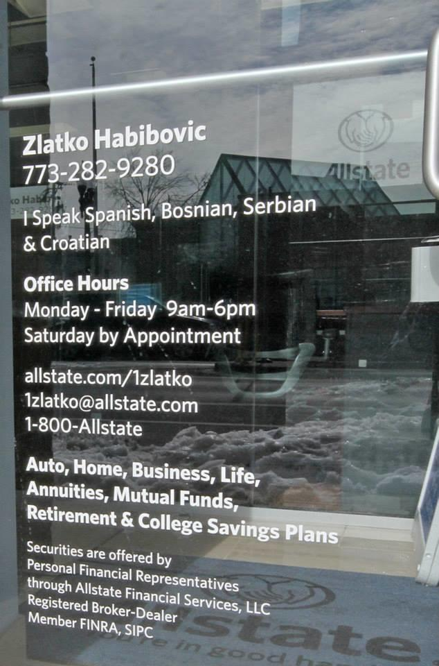Zlatko Habibovic: Allstate Insurance