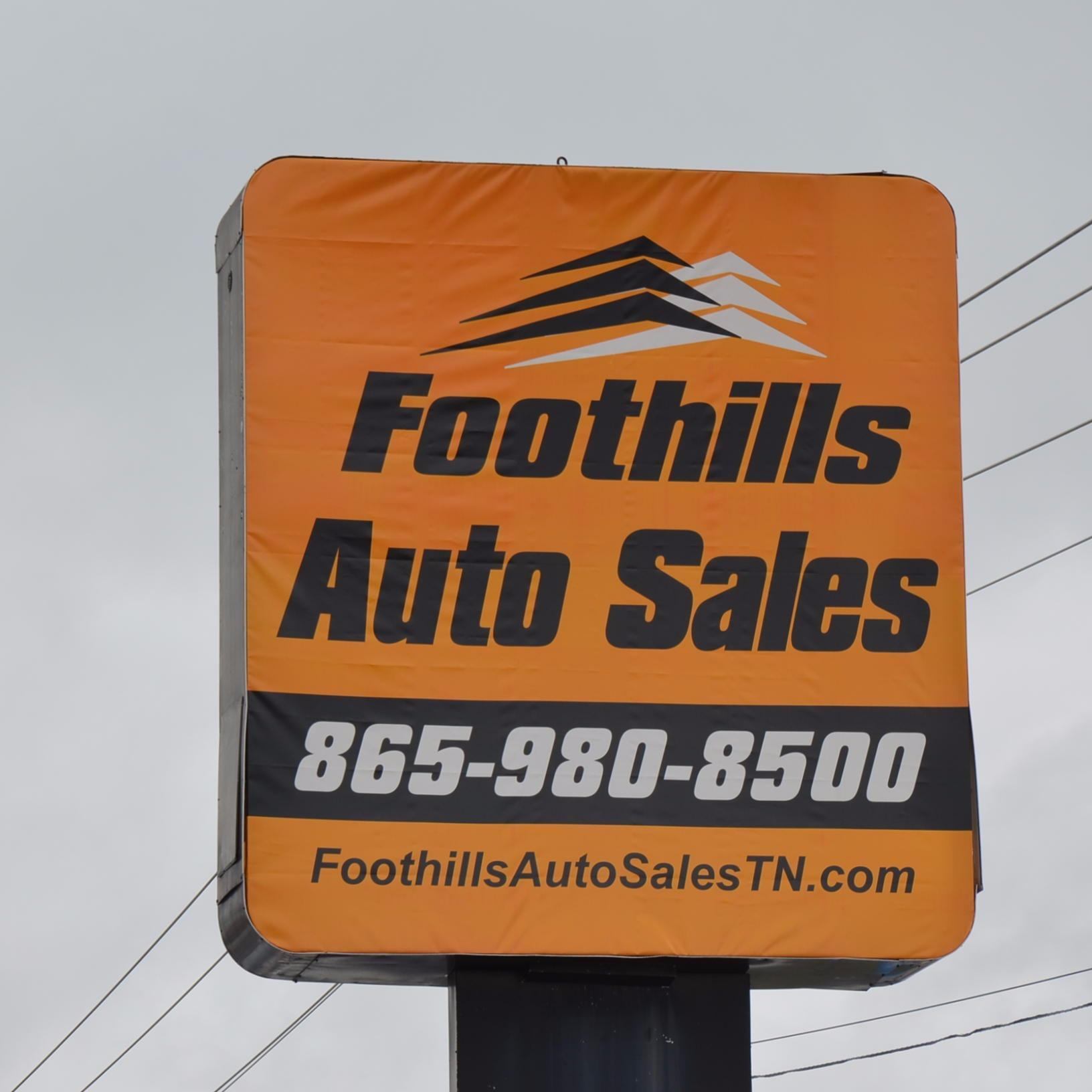 Foothills Auto Sales 2617 Highway 411 S Maryville, TN Auto