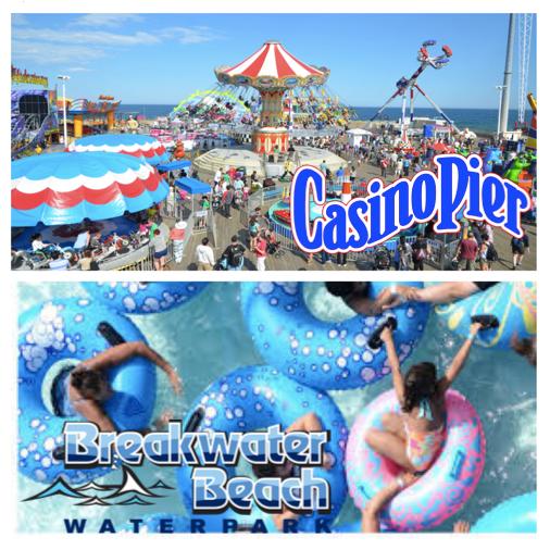 Casino Pier & Breakwater Beach