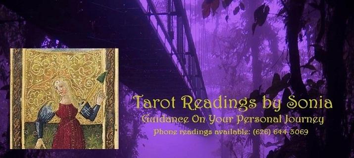 Tarot Readings by Sonia - Pasadena, CA 91101 - (626)644-3069   ShowMeLocal.com