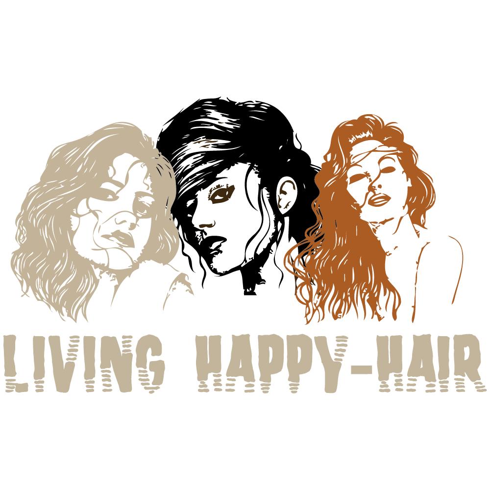 Logo von Living Happy-Hair GbR
