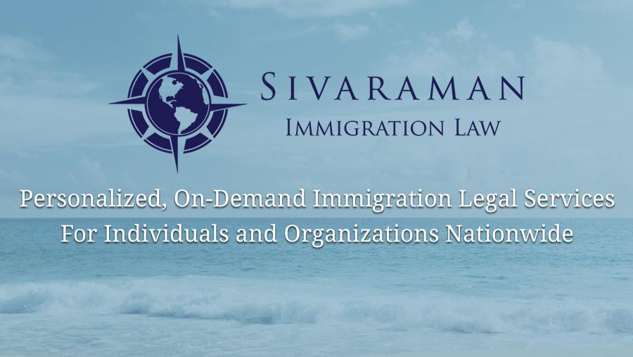 Sivaraman Immigration Law image 0