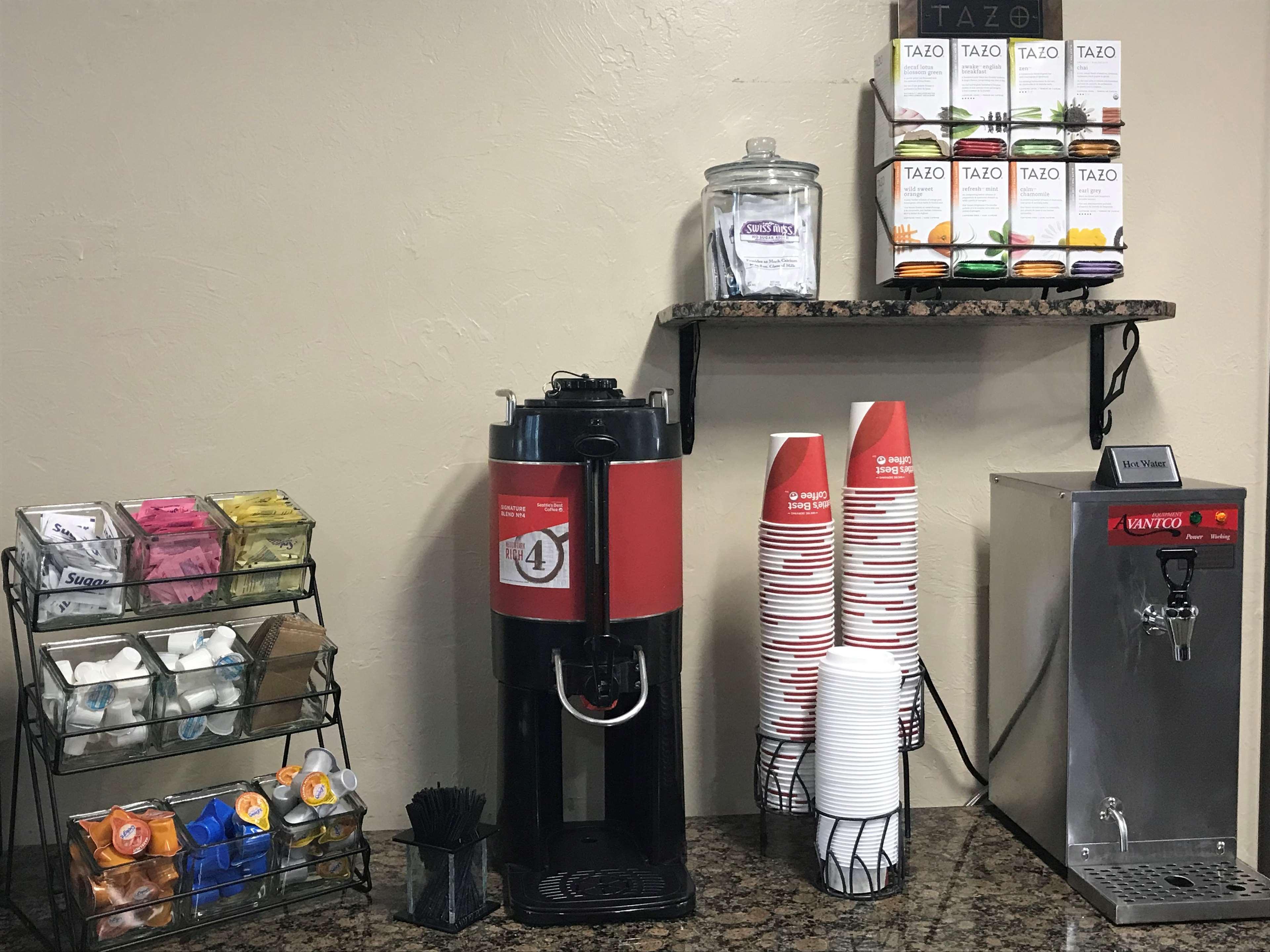 Lobby Coffee/Tea Service.