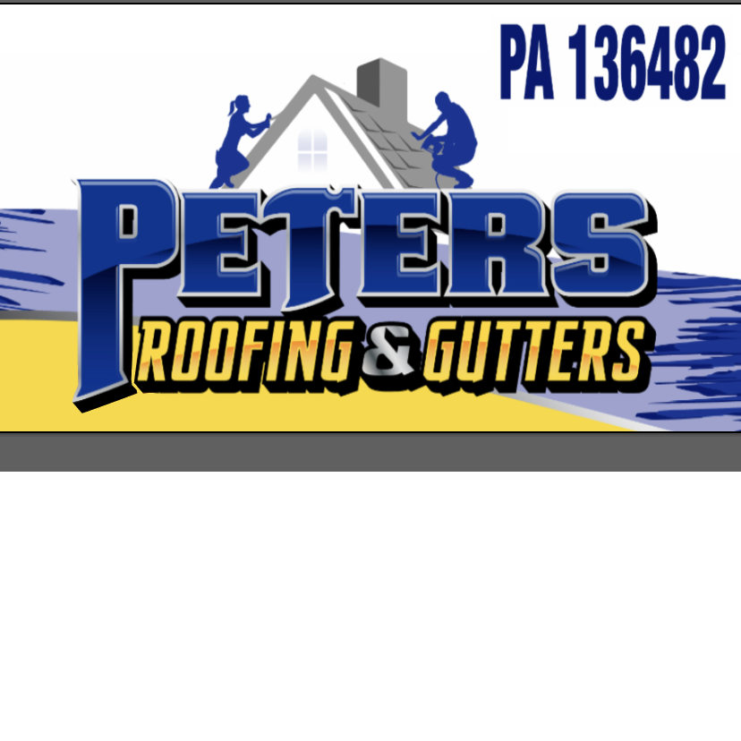 Peters Roofing & Gutters Logo