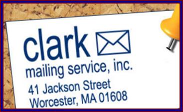 Clark Mailing Service INC - ad image