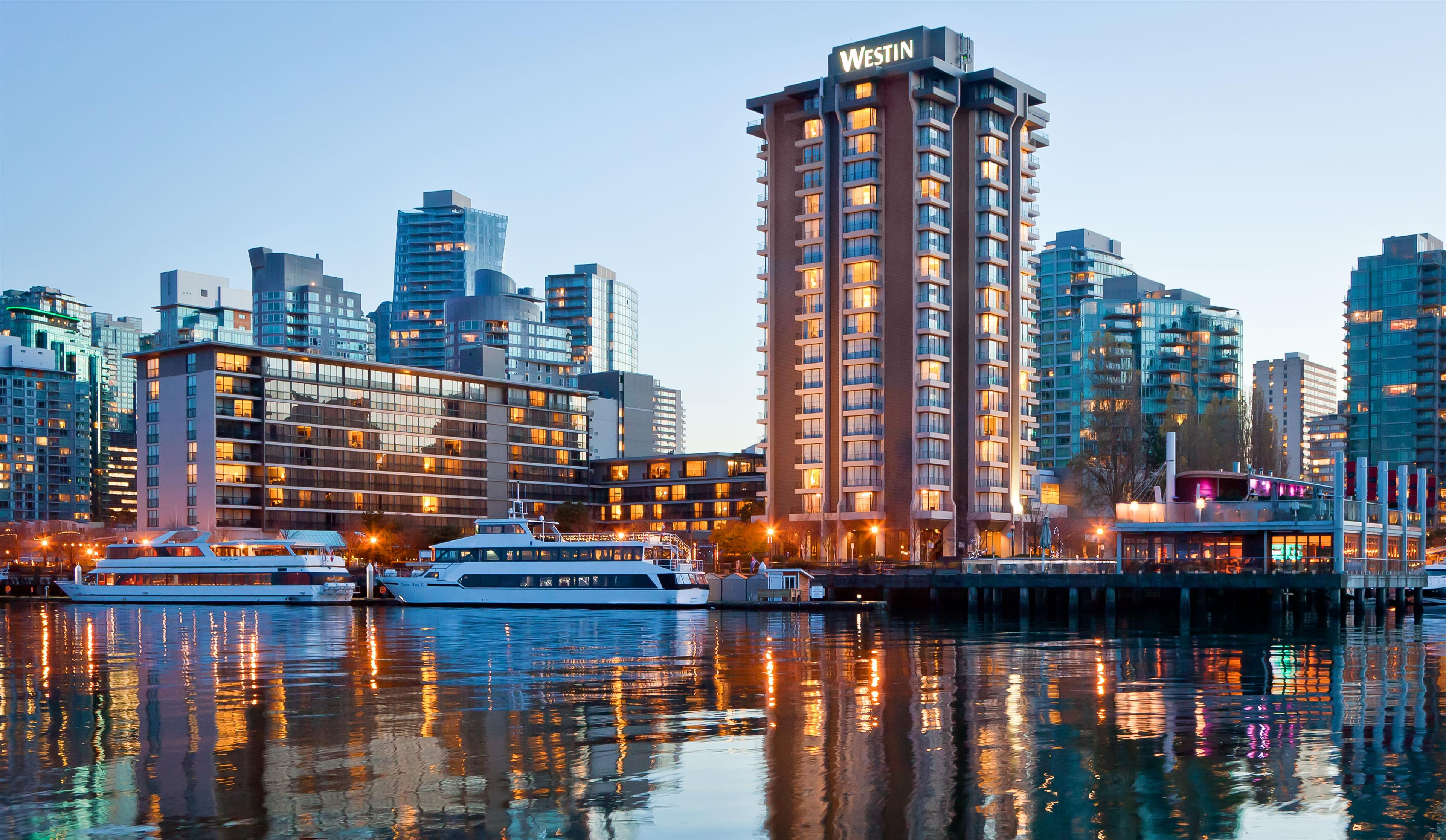 The Westin Bayshore, Vancouver in Vancouver: Exterior
